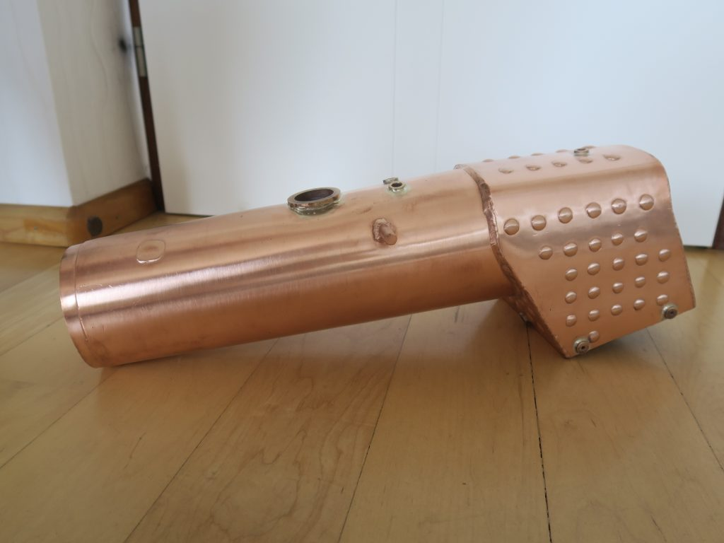 Boiler as received